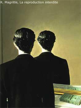 Nome di un quadro importantissimo yahoo answers - Magritte uomo allo specchio ...