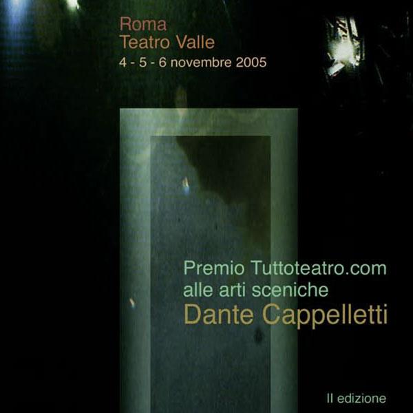 Premio Dante Cappelletti II Edizione