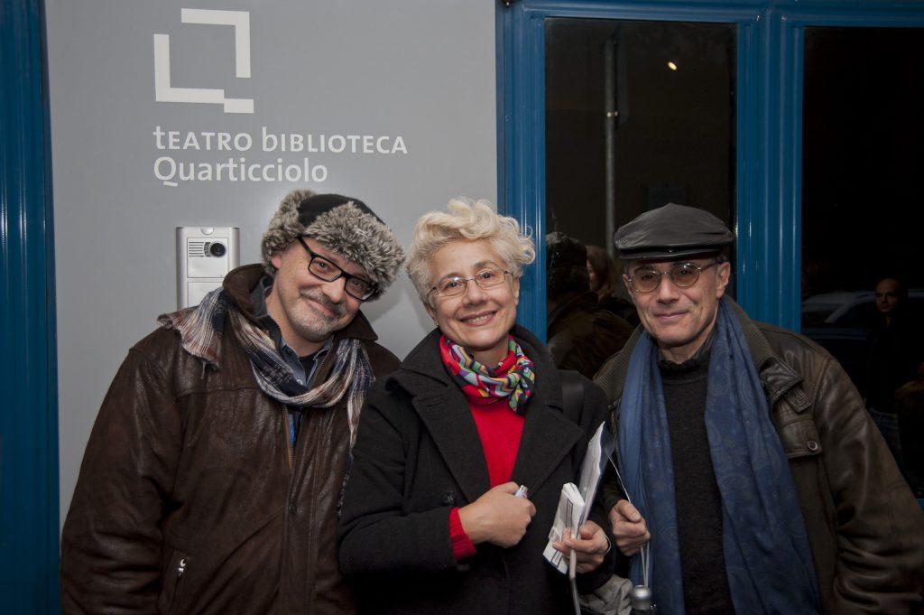 Teatro Biblioteca Quarticciolo 15 dicembre 2012